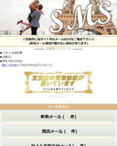 サイト内SMS