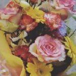 れんじの花束