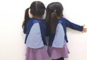 双子の写真
